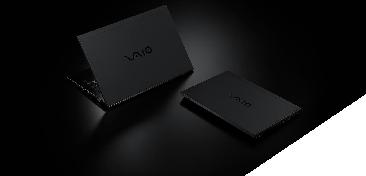 vaio all black edition ー 黒 と 高性能 への こだわりを極めた